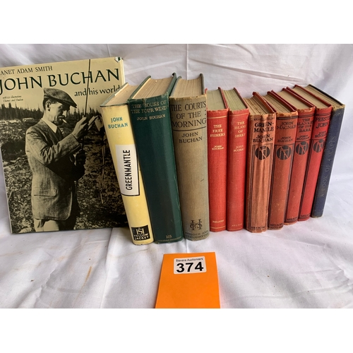374 - Collection of books by John Buchan