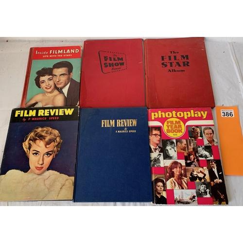 386 - 6 movie Annuals