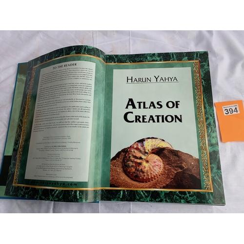 394 - Atlas of Creation - Harun Tahya Vol 1 with inner DVD 2007