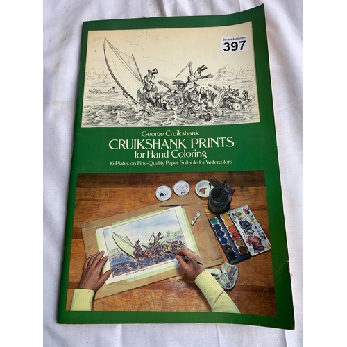 397 - Large landscape book - Cruickshank's Prints for Hand Colouring