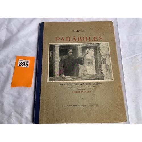 398 - Les Paraboles - Eugene Burnard. C.1908 folder of superb illustrations