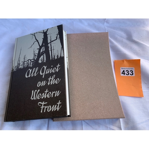 433 - All Quiet on the Western Front - Folio Society 2010 Printing error