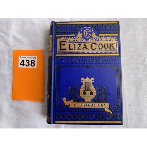 438 - The Lansdowne Poets - The Poetical Works of Eliza Cook - Complete Edition