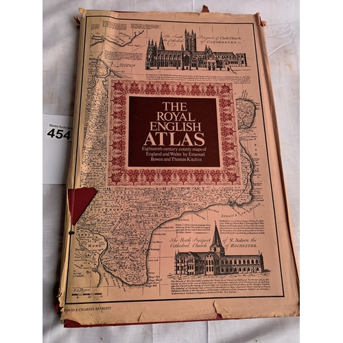 454 - The Royal English Atlas 1971