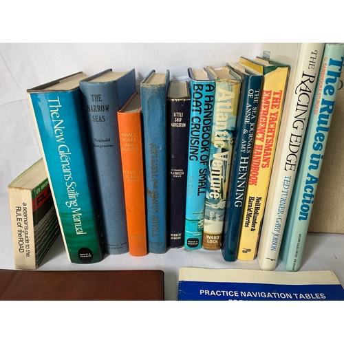 469 - Good collection of nautical and Sailing books