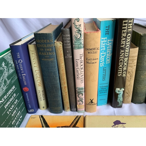 474 - Books on Books, Language and Literature inc: The Devil's Dictionary etc