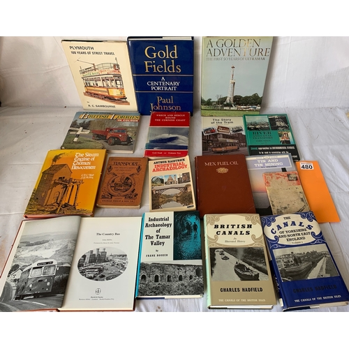 480 - Vintage transport and industry books inc: Canals