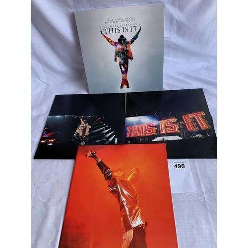 490 - Michael Jackson - This is It - Boxed 4 LP set