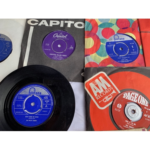 493 - Collection of 45s inc: Rolling Stones etc