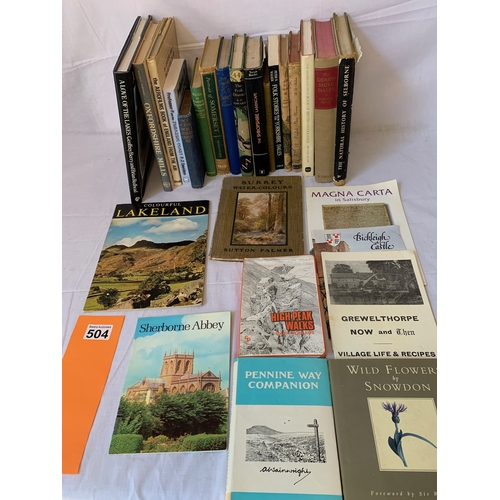 504 - Topographical books of English Regions and counties