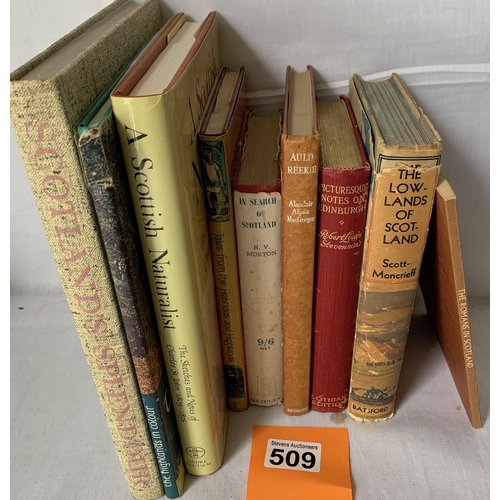 509 - Collection of Books on Scotland