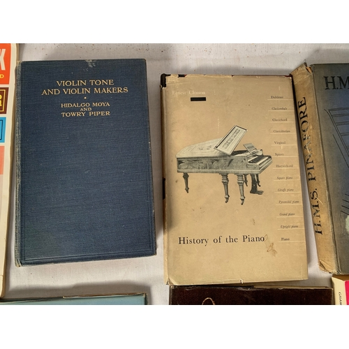 526 - Vintage music books
