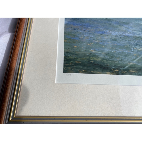 627 - Michael Lees - A Fresh Breeze Ltd Ed No 61/495 Signed with Certificate