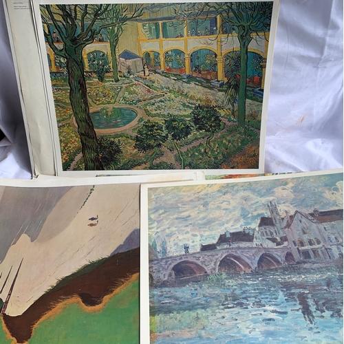 629 - 1960s National Gallery Portfolio of Art Prints