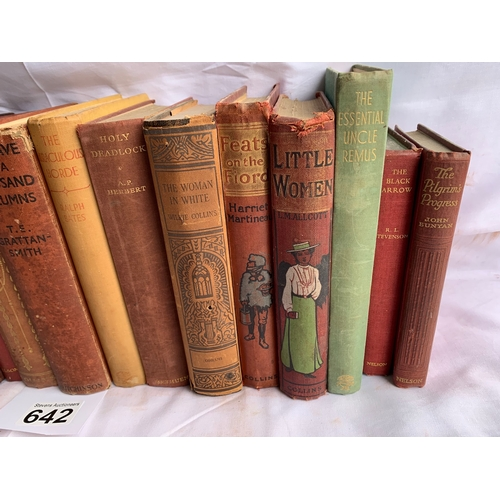 642 - Collection of Vintage Fiction - Various Authors