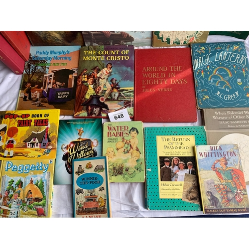 648 - Collection of Childrens Story Books