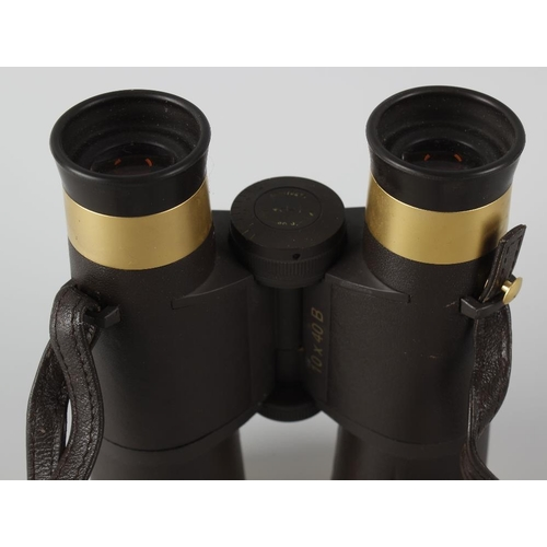 255 - A pair of Zeiss limited edition gold plated binoculars, 470/1000, made to commemorate 150th annivers...