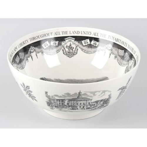 44 - A group of Wedgwood ceramics, comprising: a 'Philadelphia' bowl, designed for Bailey, Banks & Biddle...