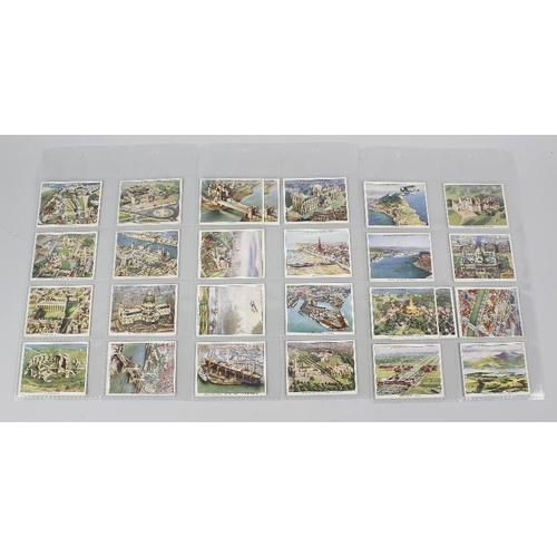 530 - A large collection of cigarette cards by Churchman. Comprising four stock binders totalling almost 1...