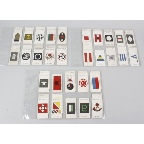 535 - An extremely large collection of cigarette cards by Players. Comprising twelve stock binders totalli...