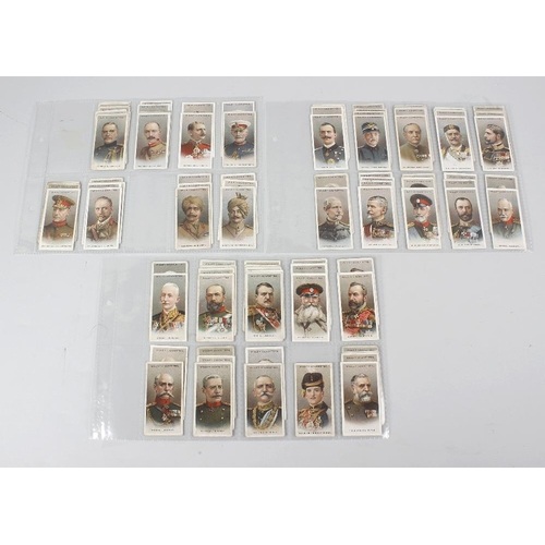 537 - An extremely large collection of cigarette cards by Wills. Comprising fourteen stock binders totalli...
