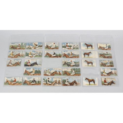538 - An extremely large collection of cigarette cards. Comprising fourteen stock binders totalling almost...