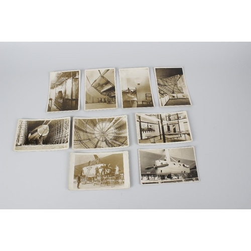 540 - Fifteen early 20th century monochrome postcards, each depicting 'Airships', together with five monoc...