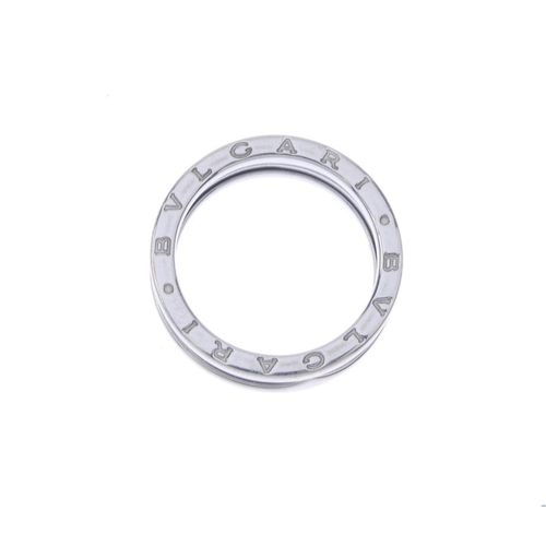 1253 - (402032-1-A) BULGARI - A B.Zero1 ring. The coiled band, with raised sides and Bulgari logo sides. Si...