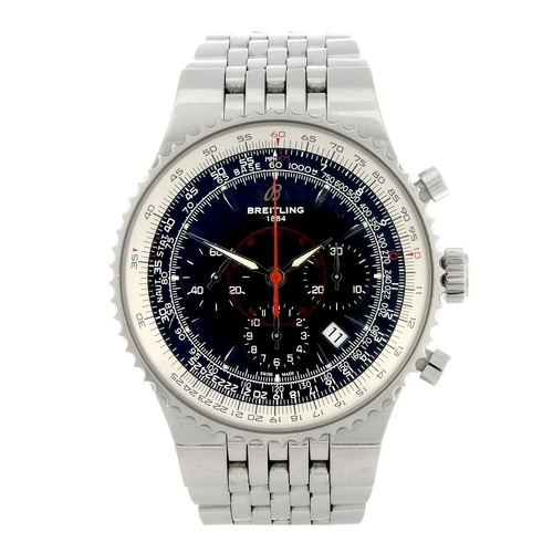 1402 - (203467) BREITLING - a limited edition gentleman's Montbrillant Legende chronograph bracelet watch. ...