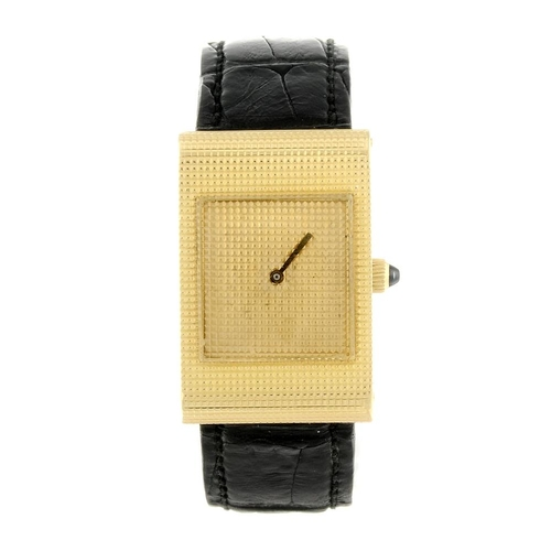 1448 - (402091-2-A) BOUCHERON - a lady's 18ct yellow gold wrist watch. Numbered 808847 8295.  <br>Fellows d...