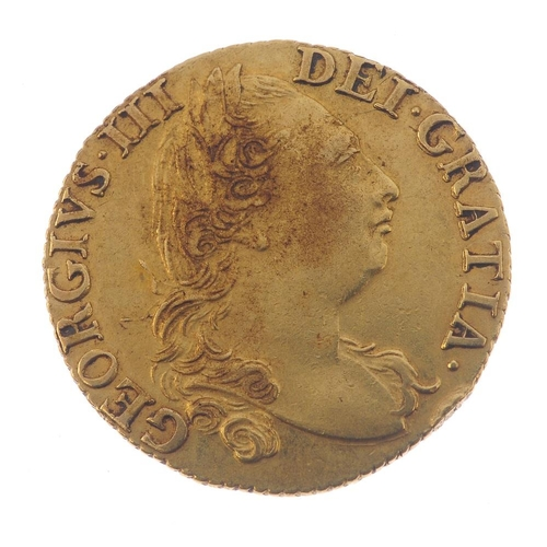 10 - George III, Guinea 1786 (S 3728). Very fine.  <br>Very fine.  <br>...