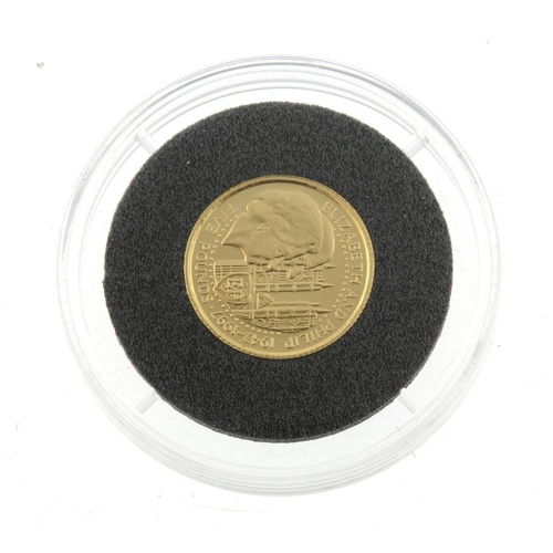 116 - Guernsey, Elizabeth II, gold £5 1997, 24ct., wt. 1/25oz. As issued.  <br>As issued.  <br>...
