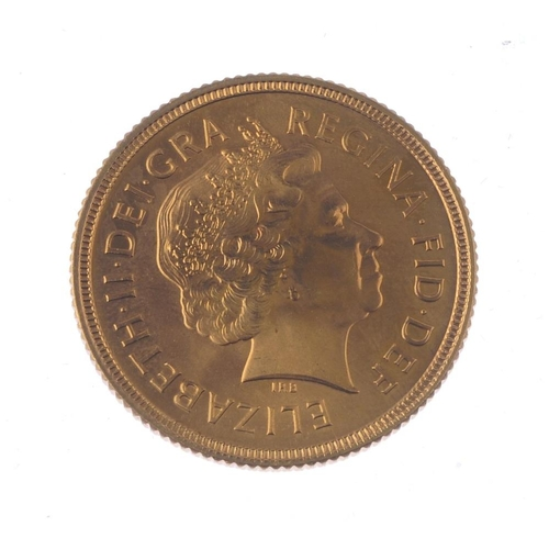 139 - Elizabeth II, Sovereign 2000. Good extremely fine.  <br>Good extremely fine.  <br>...
