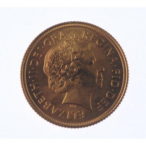 140 - Elizabeth II, Sovereign 2000. Good extremely fine. <br>Good extremely fine. <br>...