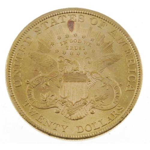 143 - USA, Twenty-Dollars 1895. Extremely fine, scuffed. <br>Extremely fine, scuffed. <br>...