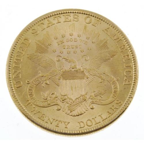 144 - USA, Twenty-Dollars 1895. Extremely fine, scuffed. <br>Extremely fine, scuffed. <br>...