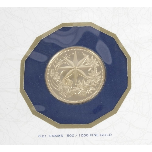 146 - Republic of Panama, One Hundred Balboa Gold Coin 1975, Belize, One Hundred Dollar Gold Coin 1979, bo...
