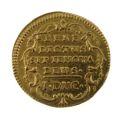 149 - Switzerland, Bern, gold Ducat, undated (1772) (KM 126). Good very fine.  <br>Good very fine.  <br>...