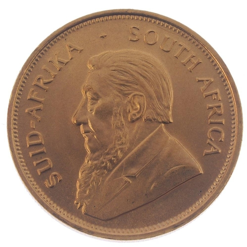 151 - South Africa, Krugerrand 1974. Good extremely fine.  <br>Good extremely fine.  <br>...