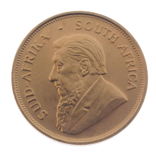155 - South Africa, Krugerrand 1974. Good extremely fine.  <br>Good extremely fine.  <br>...