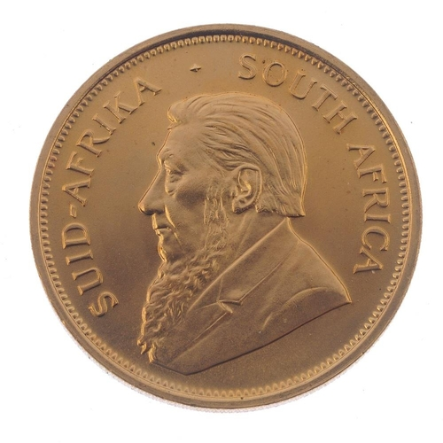 157 - South Africa, Krugerrand 1974. Good extremely fine.  <br>South Africa, Krugerrand 1974. Good extreme...