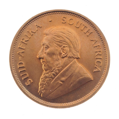 159 - South Africa, Krugerrand 1974. Good extremely fine.  <br>South Africa, Krugerrand 1974. Good extreme...
