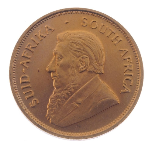 161 - South Africa, Krugerrand 1974. Good extremely fine.  <br>South Africa, Krugerrand 1974. Good extreme...