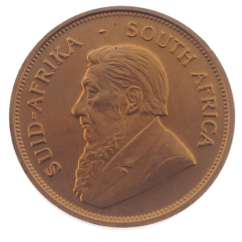 162 - South Africa, Krugerrand 1974. Good extremely fine.  <br>Good extremely fine.  <br>...