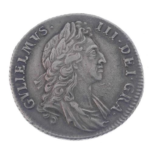 172 - William III, Shilling 1695 (S 3497).  <br>...
