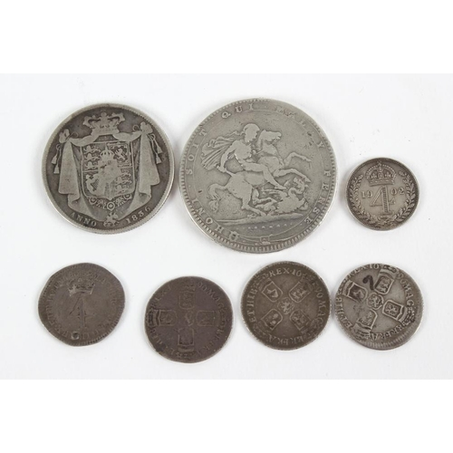 187 - Victoria, Crowns (8), jubilee head (5), veiled head (3), other English milled silver (7) including C...