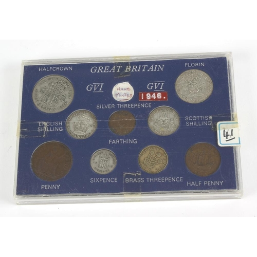 217 - British pre-decimal and other coins, a quantity, many silver, 1970's year sets and sundry. Varied st...