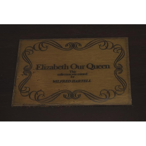 233 - A John Pinches (Medallists) Ltd, limited edition Silver Jubilee collection 'Elizabeth our Queen' set...