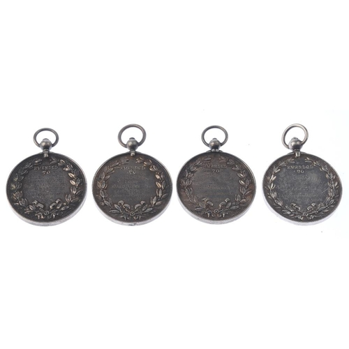 238 - Agricultural silver medals (4), the Royal Manchester, Liverpool and North Lancashire Agricultural So...
