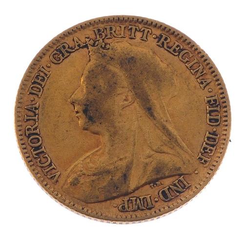 30 - Victoria, Half-Sovereign 1895. Fine.  <br>Fine.  <br>...